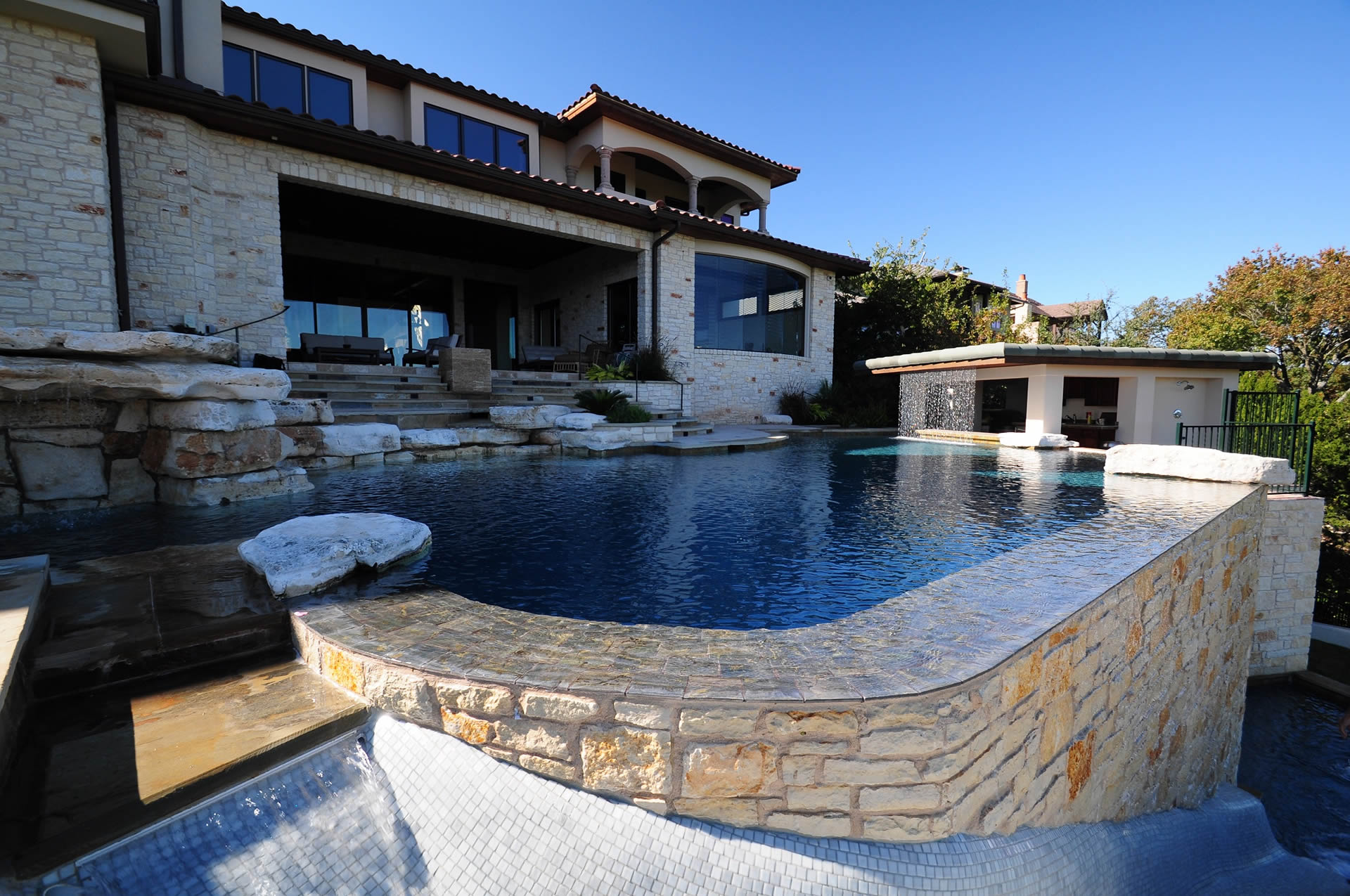 Custom Swimming Pool Builder in Austin :: Poolscapes, Inc. on custom water features, custom car builder, custom football builder, custom home builder, custom lighting, custom fireplace builder, custom inground pools, custom furniture, custom garage builder, custom pools frisco tx, custom boat builder,