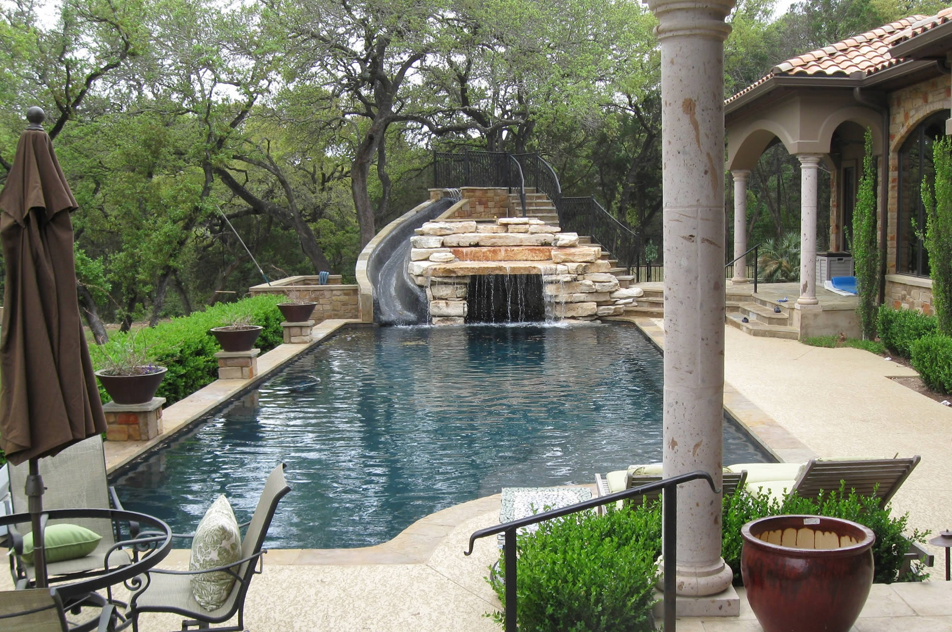 custom swimming pool builder in austin, tx :: poolscapes, inc.