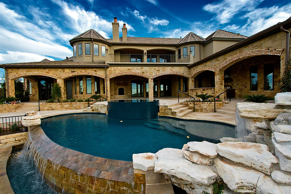 Project Gallery - Completed Swimming Pools, Spas, and ... on Outdoor Living Pool And Spa id=79145