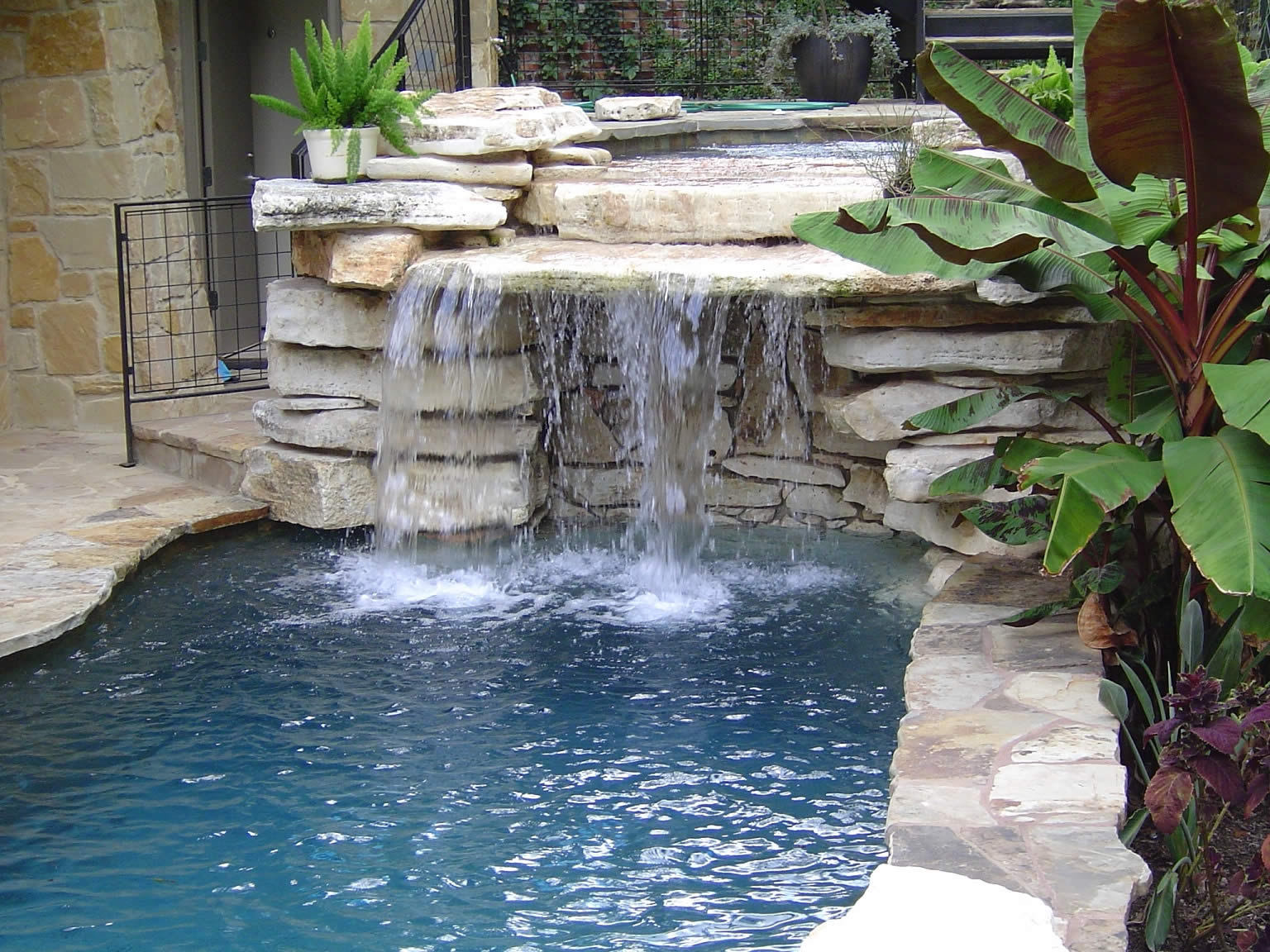 project gallery completed swimming pools spas and outdoor living