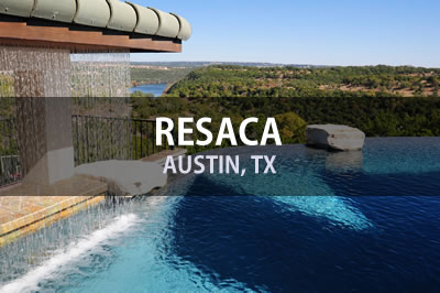 Hill Country Custom Pool Build - Resaca