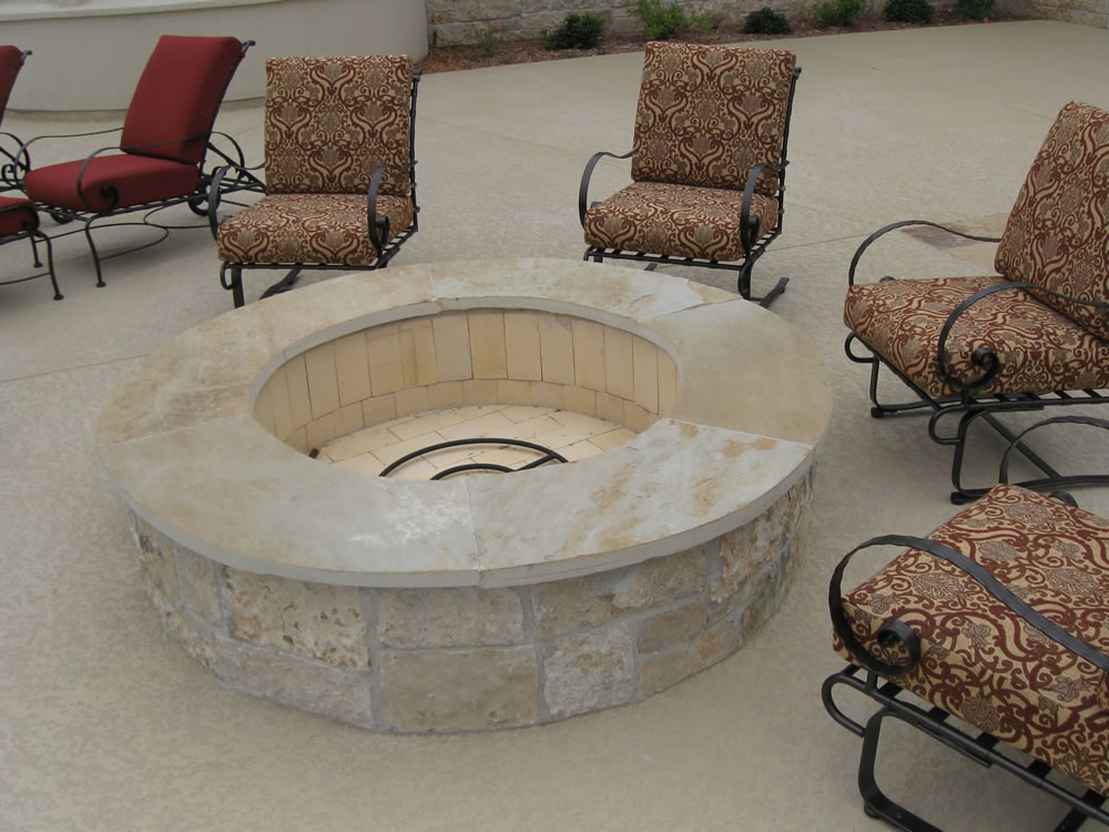 Austin Outdoor Fireplaces